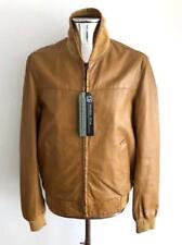 Maison Martin Margiela Leather Jacket Brown RRP £1950 EU50 Medium Coat bomber