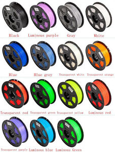 30M Premium 3D Printer Filament 1.75mm 3mm ABS/ PLA RepRap MarkerBot