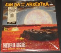 SUN RA AND HIS ARKESTRA thunder of the gods USA LP new sealed SMOKEY RED VINYL