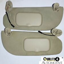 2006-2009 MERCURY MOUNTAINEER FORD EXPLORER Camel Cloth LIGHTED Sun Visors OEM