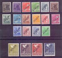 Berlin Schwarzaufdruck 1948 - MiNr 1/20 ungebraucht* - Michel 130,00 € (505)