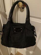 Kate Spade Black Nylon Shoulder Bag Handbag Purse NWOT