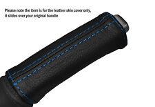 Punto azul Cuero Freno De Mano Mango Skin Tapa se ajusta Volvo S40 V50 2004-2007