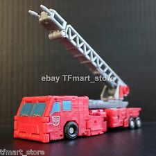 "Transformers Titanium 6"" Series Diecast Fire Convoy Optimus Prime by Hasbro"