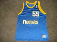 Vintage RETRO Denver Nuggets Dikembe Mutombo ROOKIE Jersey Champion 48 MINT RARE