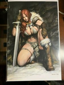 DIE! NAMITE # 2 PUPPETEER LEE RED SONJA VIRGIN VARIANT LTD. to 400 copies NM +