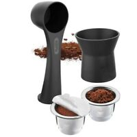 Gefu Kaffeekapseln-Set CONSCIO, 8-teilig Nachfüllbare Kaffeekapsel Nespresso