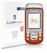 iLLumiShield Anti-Bubble/Print Screen Protector 3x for Sony Ericsson W600i