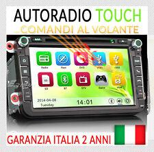 "AUTORADIO 8"" Navi OBD2 / SEAT LEON ALTEA TOLEDO SKODA OCTAVIA II III,Fabia,Yeti"