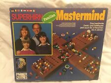Super Mastermind - Parker - 4 Players - 8+ - 1977 - Rare Edition