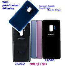 Original Battery Back Cover Rear Glass Door for Samsung Galaxy S9+ S9 Plus / S9