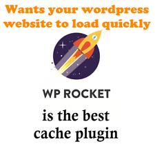 Acelera tus Wordpress sitio web con WP Rocket Pro para mejor la optimización de motores de búsqueda y carga de página