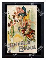 Historic Aspinall's Enamel, London, c.1894 Advertising Postcard