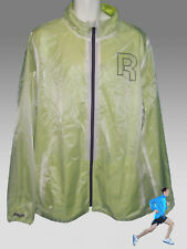 REEBOK AC Lite PlayDRY Running Cycling Track Rain Jacket White & Sonic XXL