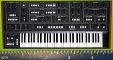 Elka SYNTHEX EK-22 Rhapsody BLACK XERXES SYNTHESIZER rerigerator magnet
