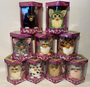 Vintage Furby's of all colors! 70-800 Interactive Toy, New in Box 39.99 - $79.99