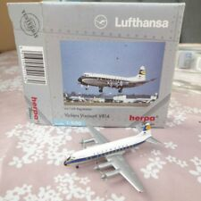 Herpa Wings 511780, 1:500 Lufthansa Vickers Viscount V814 D-ANUN 4 x Propeller