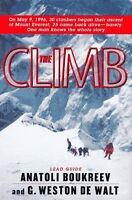 The Climb: Tragic Ambitions on Everest by Anatoli Boukreev, G. Weston Dewalt