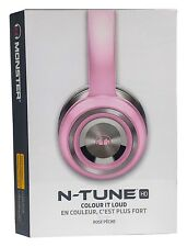 Monster N-TUNE Noise Isolating On-Ear Headphones w/ ControlTalk - Blush (Pink)