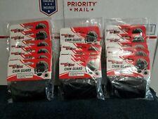 Lot Of 18 - Football Helmet Chin Strap Guard Cover Shield Black