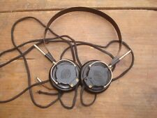 Very old VEF military Headphones