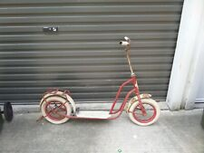 Vintage Antique Old Royal Delux Push Scooter