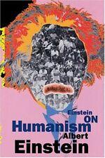 Einstein on Humanism