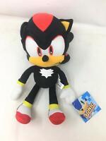 "Sonic the Hedgehog Shadow 13"" Plush Stuffed SEGA Little Boys Children Kids Toy"