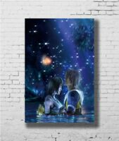 24x36 14x21 40 Poster Final Fantasy X Tidus and Yuna Game T173 Art Hot P-3071