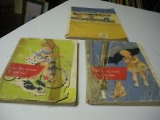 3 Early Education Readers Two Are 1956 Dick & Jane Readers and one is 1961