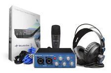 PreSonus AudioBox 96 Studio Recording Package