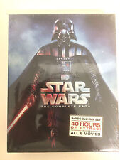 Star Wars: The Complete Saga (Blu-ray Disc 9-Disc Set, Boxed Set) FREE Shipping!