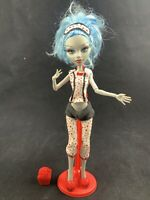 MONSTER HIGH DEAD TIRED SLEEPOVER GHOULIA YELPS DOLL IN PAJAMAS