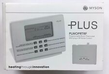 MYSON PLUS PLWOPRTRF PROGRAMMABLE ROOM THERMOSTAT WITH PLUG IN RF BOILER CONTROL