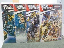 Transformers Official Movie Adaptation #1, 2, 3 & 4 IDW Comics CB5522