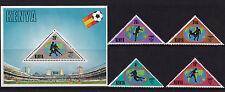 Kenya - 1982 Copa Del Mundo Fotball-u/m-Sg 238-41 + ms242