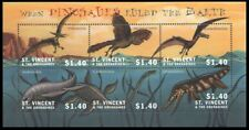 St. Vincent 2005 MNH SS, Prehistoric Animals, Dinosaurs ruled the Earth (S2n)