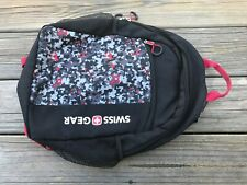 Swiss Gear Young Boys Backpack Bag Black/Red School Minecraft Bag
