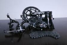CAMPAGNOLO RECORD CARBON 11 SPEED GROUPSET WITH ROTOR 3DF IN VERY GOOD CONDITION