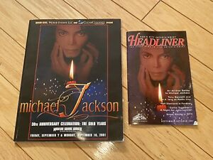 Michael Jackson 30th Anniversary Madison Square Garden Program Collectible Books