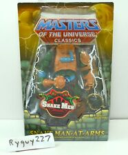 MOTUC, Snake Man-At-Arms, Masters of the Universe Classics, MOC, sealed figure