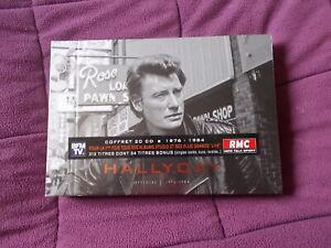 coffret 20 cd de Johnny Hallyday 1976 1984 neuf et emballé