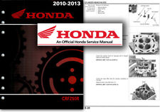 Honda CRF250R Service Workshop Repair Shop Manual CRF 250 R 2010 to 2013 FACTORY