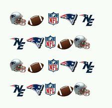 NFL New England Patriots nail art WATER DECALS  Free shipping Footbal nail art