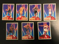 1993-94 Fleer Rookie Sensations 7 Card Lot No Dups Harold Miner + Miami Heat