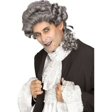 Colonial Wig Men's Mixed Gray Gothic Style Synthetic Hair Character Costume Wig