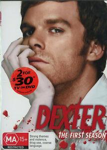 Dexter: The First Season DVD (Region 4) NEW
