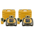 Topcon RL-H5A Self-Leveling Construction Rotary Grade Laser Level, 2-Pack