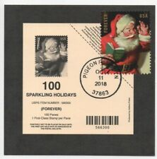 Deck card for 2019 Sparkling Holidays sheet with Pigeon Forge FDOI cancel 5336