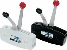 uflex Side Mount Dual Lever Control, Light Grey